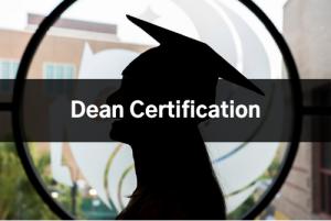 Dean Certification