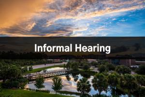 Informal Hearing