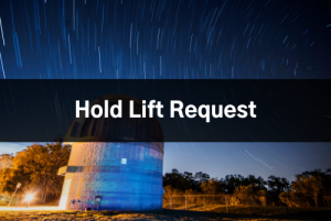 Hold Lift Request