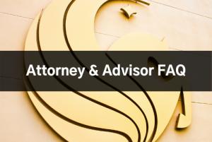 Attorney & Advisor FAQ